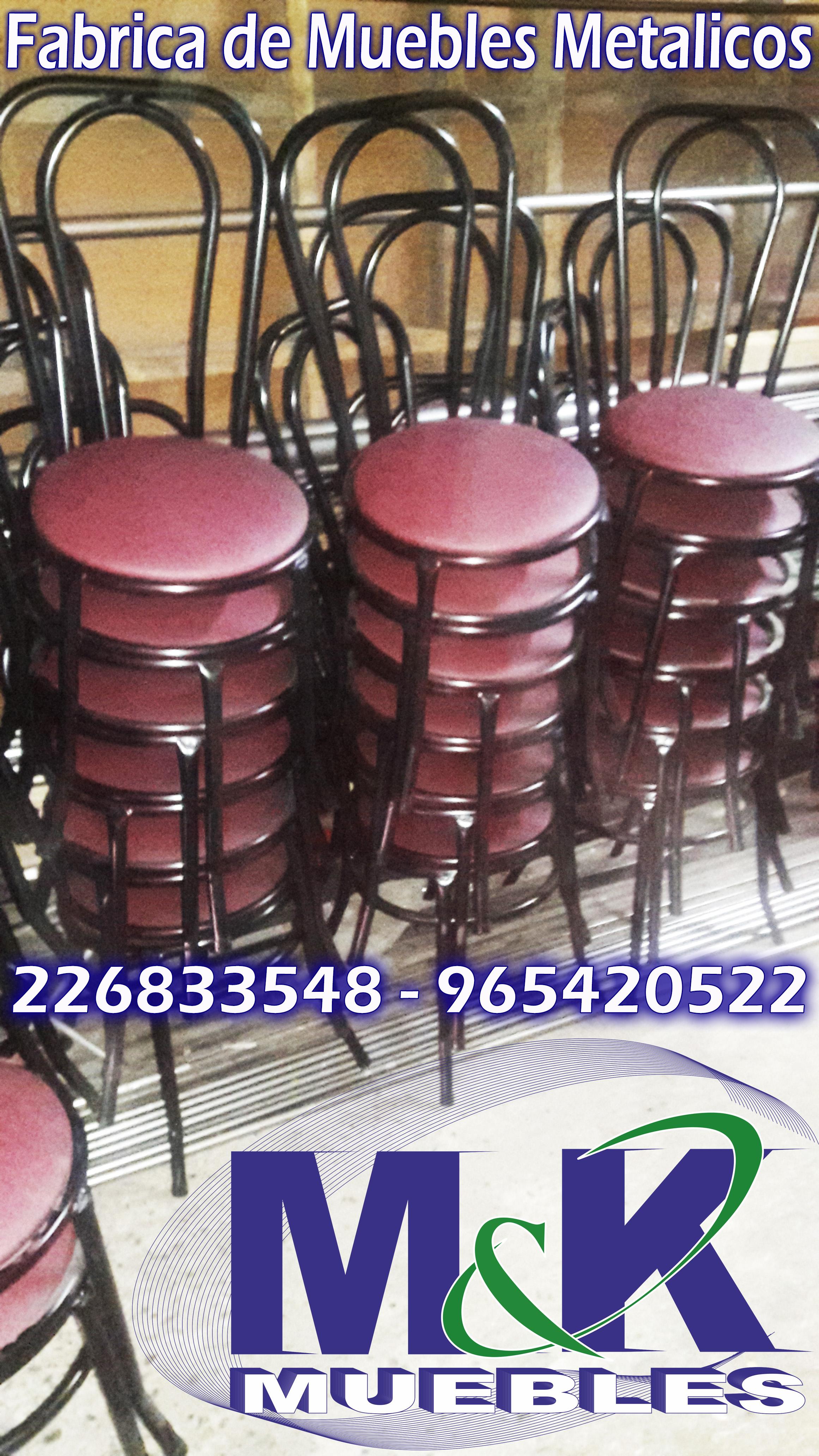 Silla mesas camas camarotes muebles metalicos fabrica Fabrica de bases para mesas